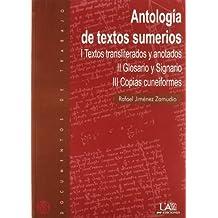 Antología de textos sumerios (Documentos de trabajo)