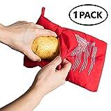 Caidi Mikrowellenbeutel für Kartoffeln Potato Express für Kartoffeln in 4 – 6 Minuten nur (1 Pack)