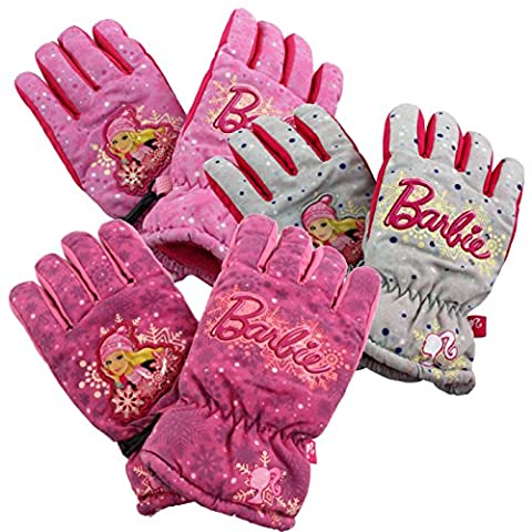 Exclusive Barbie Ski Gloves/Snowboard Gloves for Children/Teenagers (3/4/5/6 or 7/8). Please email us the Die grey Size:(3/4 oder 5/6 oder 7/8 )