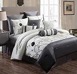 bella duvet cover(white, grey,black,233cm*259cm)