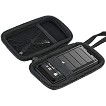 ‏‪Khanka Hard Travel Case Compatible with WD Black WD_Black 500GB 1TB 2TB P50 SSD Game Drive Portable External‬‏