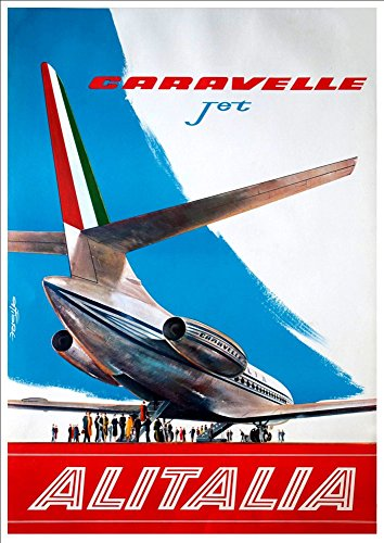 alitalia-1960-wonderful-a4-glossy-art-print-taken-from-a-rare-vintage-travel-poster