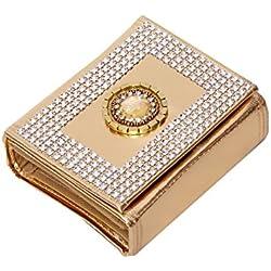 Kuber Industries™ Foldable Bindi Kit Golden Tissue Laminated (16 Flaps)