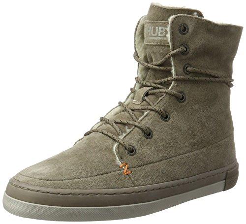 Hub Damen Vermont high N30 Hohe Sneaker, Beige (Dark Taupe/Dark Taupe-Cool Taupe), 39 EU