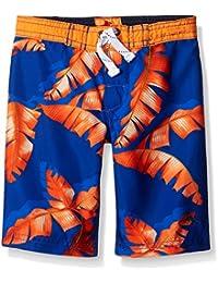 Tommy Bahama Boys' Palm Tree Leaf Swim Trunks