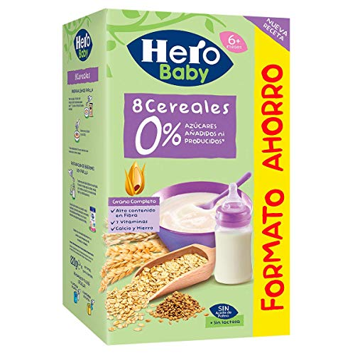 Hero Baby - Natur Papilla Multicereales - 820 gr