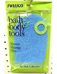 Swissco Gant de massage pour la douche (Synthétique) - Assortiment de couleurs