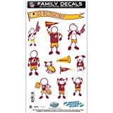 NFL Washington Redskins Medium Family Decal Set