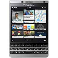 BlackBerry Passport Silver Edition Smartphone débloqué Qwerty , 4G (Ecran: 4,5 pouces - 32 Go - BlackBerry OS 10.3) Argent (import Europe)