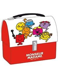 Petite valise metallique Mr Madame
