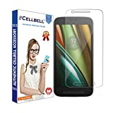 CELLBELL® Motorola Moto E3 Tempered Glass Screen Protector with Free Installation Kit