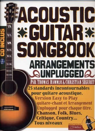Acoustic Guitar Songbook (+ 1 CD) - Rebillard