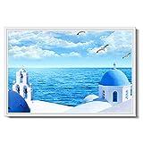 Elektroheizkörper LHA Wand Wand Warm Wandheizkörper Wandhalterung Heizung Graphene Heizung 1200 Watt Sanfte Hitze (Farbe : A)