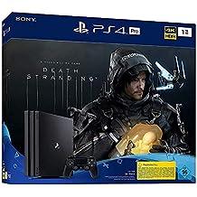 PlayStation 4  Pro - Konsole inkl. Death Stranding (1TB, schwarz, Pro)