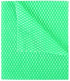 """Green Multi Purpose Cleaning Cloths - J Cloths """"type"""" 50 Pack - perforations as in the original"""