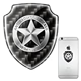 Cell Phone Anti-radiation Shield,EMF Protection Technology,EMR Neutralizer Patch For All Mobile Phones, Ipad Computers Laptop Tablet (shield sliver)
