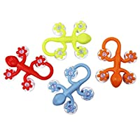COM-FOUR® Gecko Suction Cup Wall Hook Set