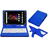 ACM USB Keyboard Case for Alcatel Pop 4 10.1 Tablet Cover Stand with Free Micro USB OTG - Blue