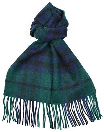 Echarpe tartan écossais en laine - Homme