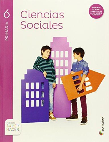 CIENCIAS SOCIALES MEC 6 PRIMARIA - 9788468087634 por Aa.Vv.