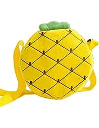 Lovely Fruit Kinder Schultertasche Kinder Crossbody Geldbörse Ananas