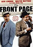 The Front Page [1974] [DVD] [Region 1] [US Import] [NTSC]