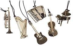 Idea Regalo - simpatico segnalibro del metallo musica moda pianoforte chitarra segnalibro d'oro per il libro regalo creativo della cancelleria della scuola