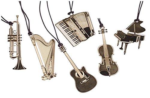 niedliches Goldmetall Lesezeichen Mode Musik Klavier Gitarre Lesezeichen für Buch kreativen Geschenk Schulsachen