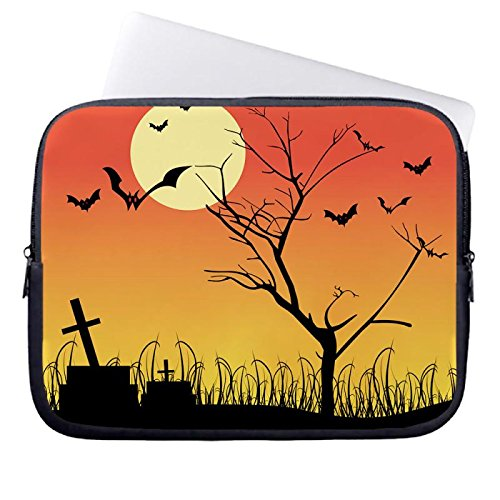 hugpillows-laptop-sleeve-bag-halloween-scary-pictures-backgrounds-notebook-sleeve-cases-with-zipper-