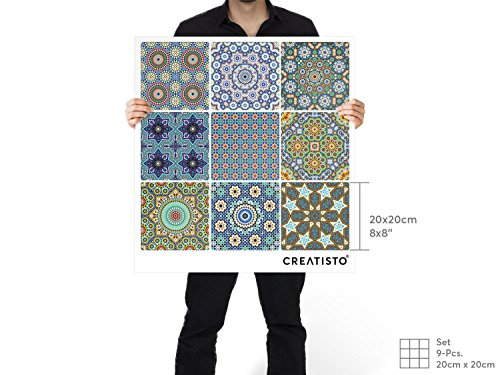 Piastrelle decorazioni decorative adesivi per piastrelle adesivo