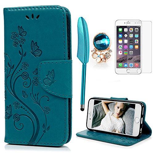 YOKIRIN Flip Hülle Case für iPhone 6 Plus /6S Plus (5.5