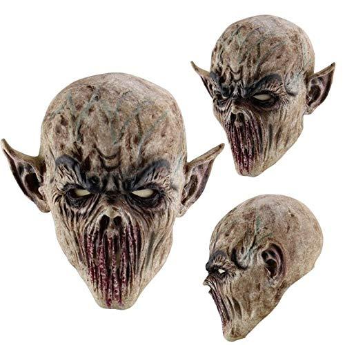 Masken beängstigend Jason Voorhees Horror-Kostüm Blood Creepy Spooky Latex (Alien) ()