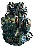 CI Tactical Rucksack 65L US Army Enforcer Backpack Trekking Wanderrucksack Alpin verschiedene Farben (Flecktarn)