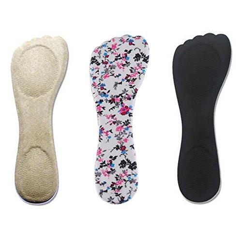 Toechmo Velvety Insole for High Heels, Gel Shoe Insoles for Women Provide...