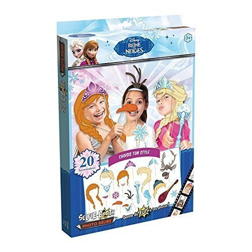 Disney Frozen Anna Elsa Olaf und co. Partyfun und Partygag / Selfie / Photo Verkleidungs Kit / Frisuren am Stab mit (Kind Kit Olaf)