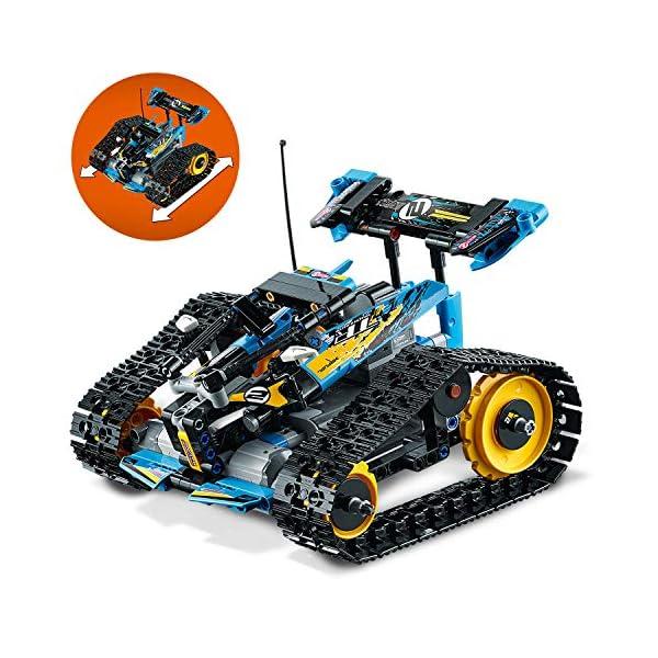 Lego - Technic Stunt Racer, Veicolo Telecomandato ad Velocità , Completamente Motorizzato, con Cingoli e Grandi Ruote… 5 spesavip