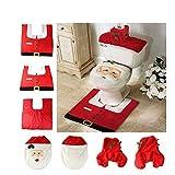 Best Wall Pops Friends On Dvds - Candora® Santa Claus Decoration Toilet Set Seat Cover Review