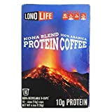 LonoLife Protein Coffee with 10g Protein, K-Cup Pods, 10 Count