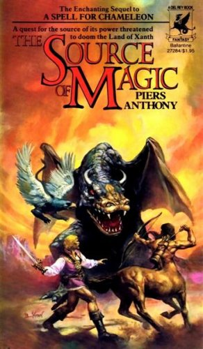 Cover of The Source Of Magic (Xanth 2)