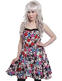 Cupcake cult gAME oVER dRESS robe