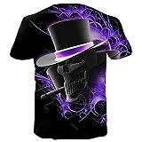 Ba Zha Hei Jungen Männer Plus Größe 3D Printed Realistische Pullover Kurzarm Männer Druck Tees Shirt Kurzarm Bluse B