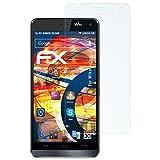 atFolix Schutzfolie kompatibel mit Wiko Getaway Panzerfolie, ultraklare & stoßdämpfende FX Folie (3X)