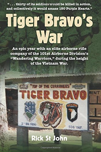 Tiger Bravo's War: An epic year with an elite airborne rifle company of the 101st Airborne Division's Wandering Warriors, during the height of the Vietnam War (Airborne 101st Division)