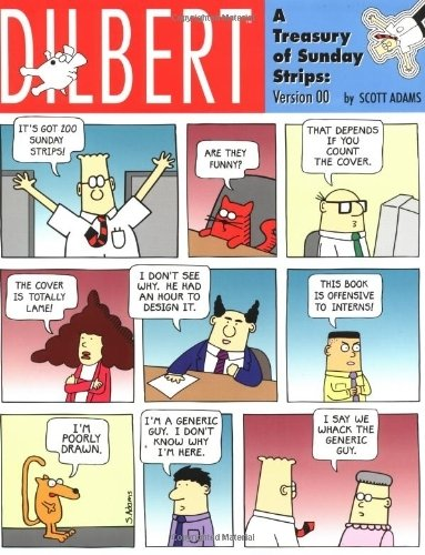 Dilbert - A Treasury Of Sunday Strips: Version 00 by Adams, Scott (2000) Paperback