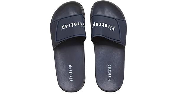 62c442d8a Designer ME Mens Firetrap Pool Slide Navy Guys Gents (12 UK 12 EUR 46):  Amazon.co.uk: Shoes & Bags