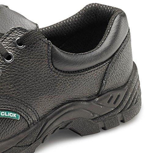 B-Click Footwear , Herren Sicherheitsschuhe Schwarz schwarz nero
