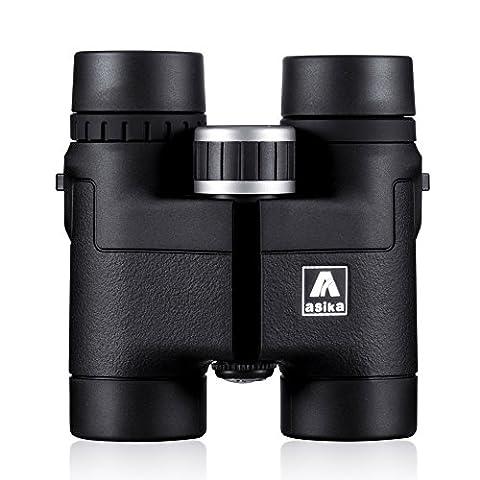 Jumelles 10x32 - BNISE 8x32 HD Jumelles Binoculars - Asika