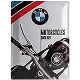 Nostalgic-Art 23201 BMW - Motorcycles Since 1923, Blechschild 30x40 cm