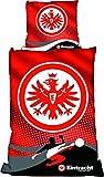 Eintracht Frankfurt Bettwäsche Linon \'Raster\' - 0720049 1254-00-1-05