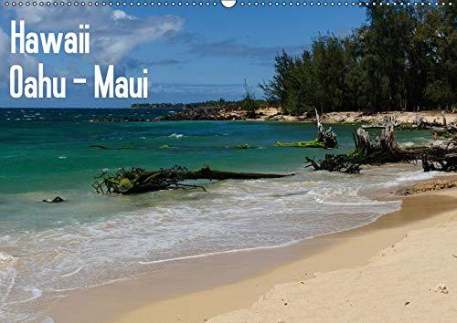 Hawaii - Oahu - Maui (Wandkalender 2019 DIN A2 quer): Die schönsten Bilder der Inseln Oahu und Maui (Monatskalender, 14 Seiten ) (CALVENDO Orte)